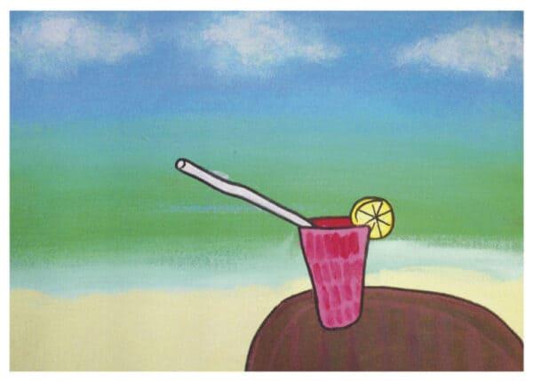 Card - Beach - Sara G