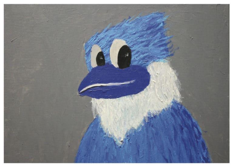 Card - Blue Jay - Rebekah B