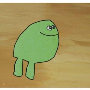 Card - Frog - Hannah O