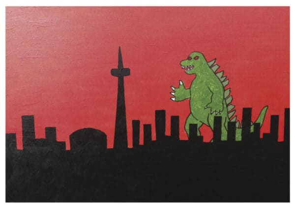 Card - Godzilla T.O - Chris C