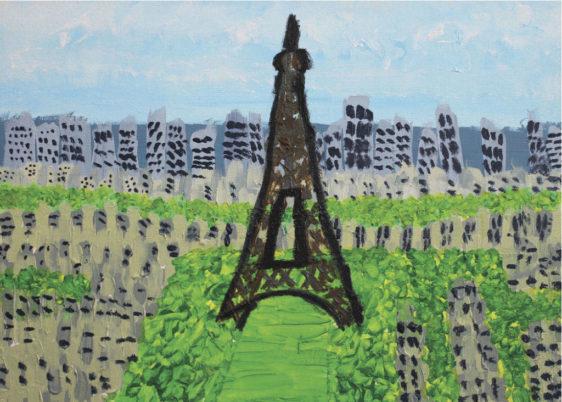 Card - Paris - Sara G
