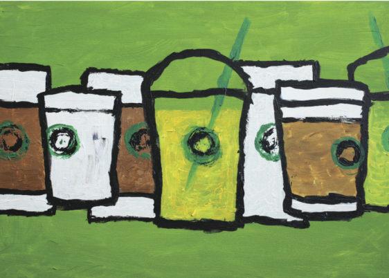 Card - Starbucks Cups - Sean R