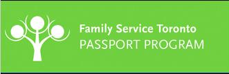 Family Service Toronto PASSPORT PROGRAM Logo