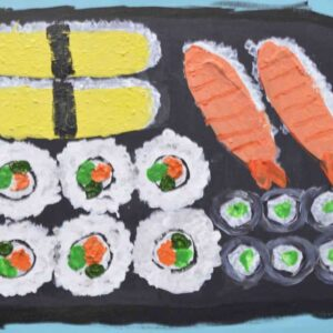 Greeting Card - Sushi - HO
