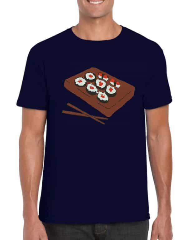 Blue Sushi Unisex T-shirt