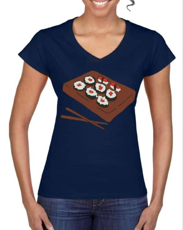 Blue Sushi Women T-shirt